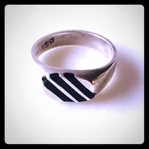 Vintage Sterling Taxco Ring